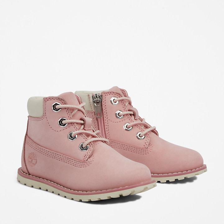 Pokey Pine 6 Inch Boot voor peuters in roze-