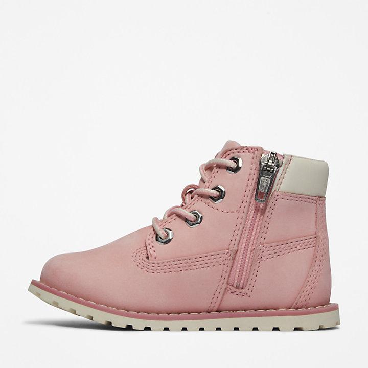 6-Inch Boot Pokey Pine pour tout-petit en rose-