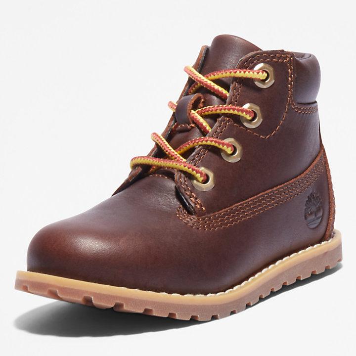 Pokey Pine 6 Inch Boot for Toddler in Dark Brown-