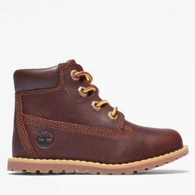 Pokey+Pine+6+Inch+Boot+for+Toddler+in+Brown