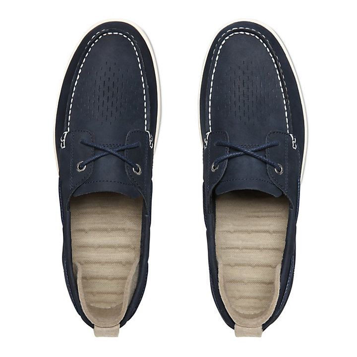 Project Better Boat Shoe for Men in Navy-