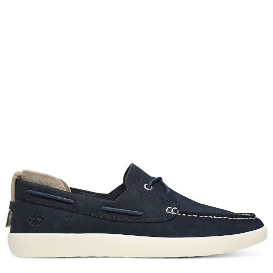 Project Better Boat Shoe for Men in Navy | Timberland