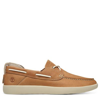Project+Better+Boat+Shoe+for+Men+in+Light+Brown