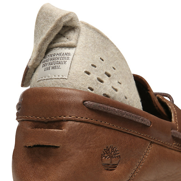 Project Better Boat Shoe for Men in Brown-