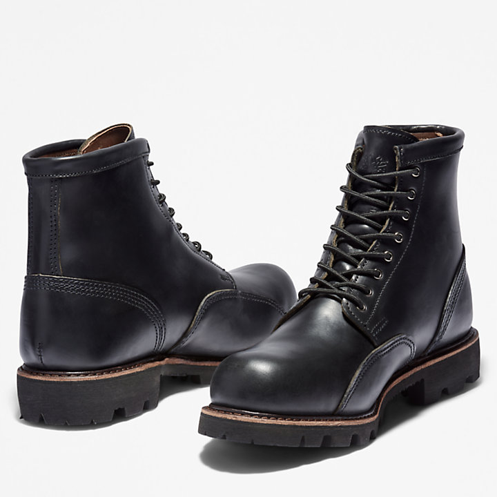 American Craft 6 Inch Boot voor Heren in zwart-