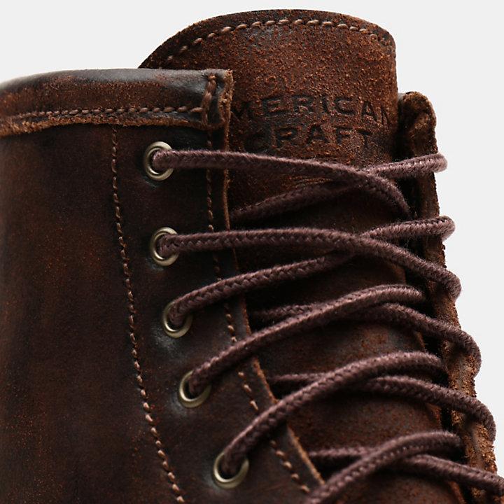 American Craft 6 Inch Boot voor Heren in bruin-