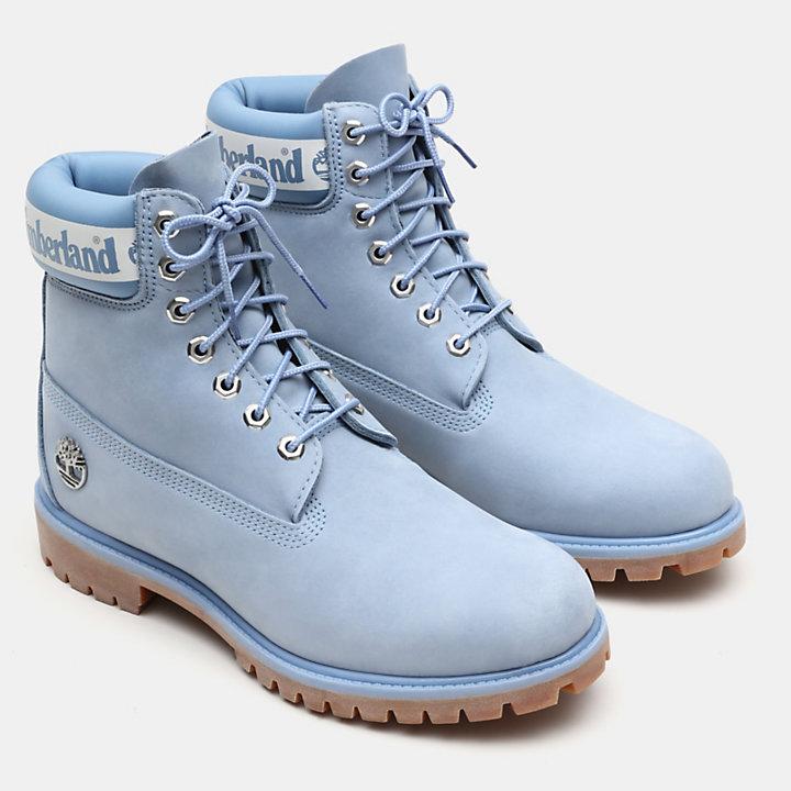 Exclusieve 6 Inch Premium Boot voor Heren in Lichtblauw-