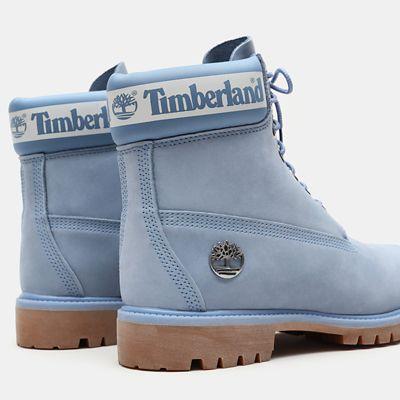 timberland bleu clair