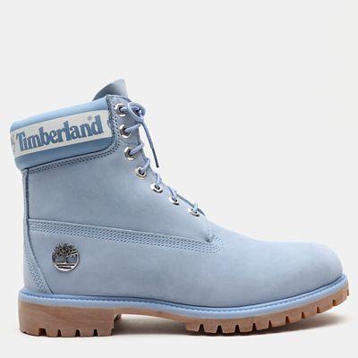 Exclusive 6 Inch Premium Boots für Herren in Hellblau