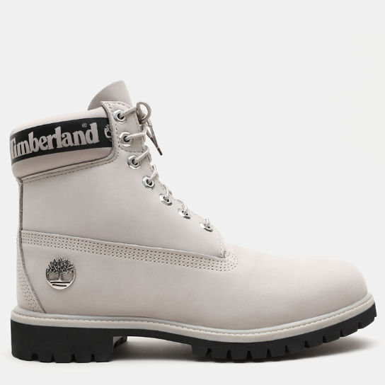Exclusive 6 Inch Premium Boot for Men in Light Grey | Timberland