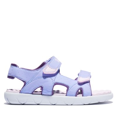Perkins+Row+2-Strap+Sandal+for+Youth+in+Purple