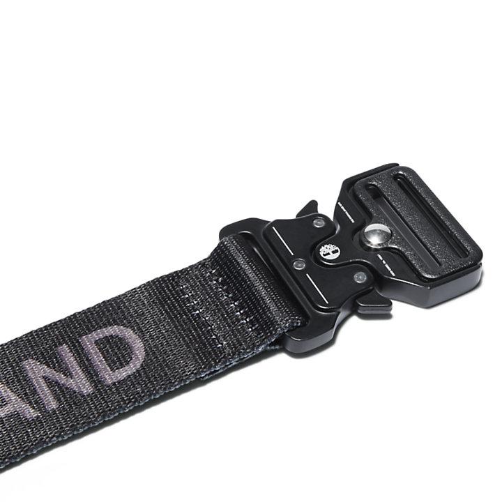 38 mm Herrengürtel mit Schnellverschluss in Schwarz-