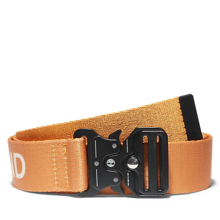 Cinturón Táctico de Liberación Rápida de 38mm para Hombre en naranja-