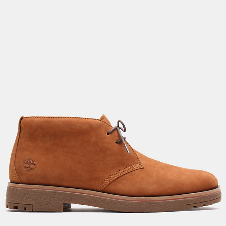 Folk Gentleman Chukka for Men in Light Brown-