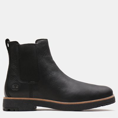Folk+Gentleman+Chelsea+Boot+voor+Heren+in+zwart