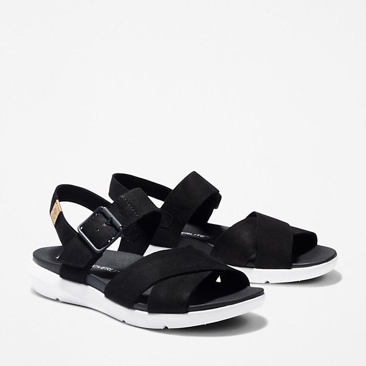 Wilesport Sandale für Damen in Schwarz-