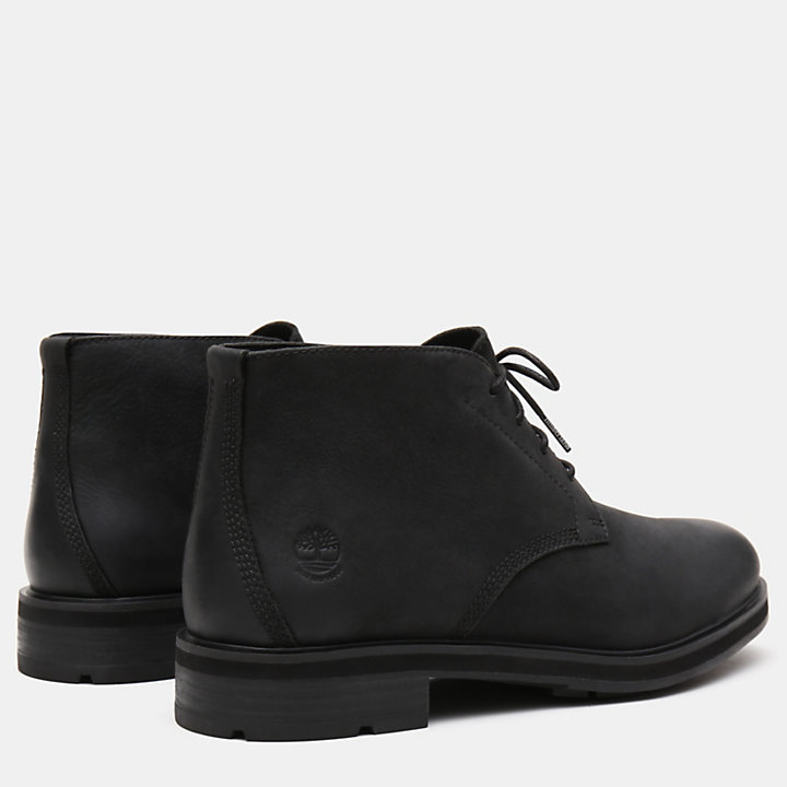 Windbucks Chukka for Men in Black-