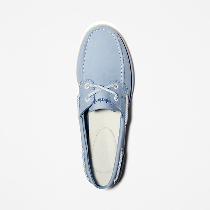 Classic Boat Shoe for Women in Blue-
