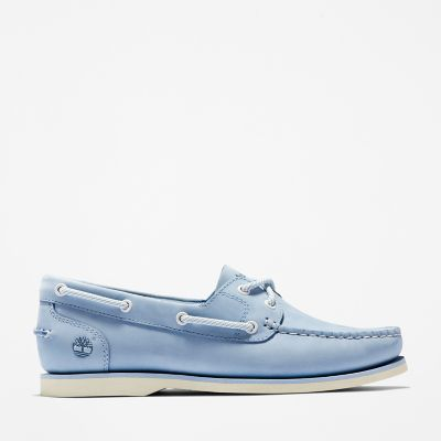 Classic+Boat+Shoe+for+Women+in+Blue