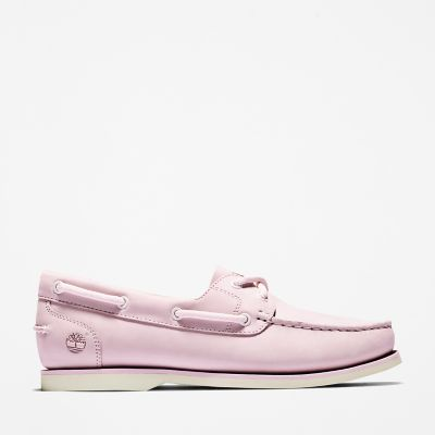 Classic+Boat+Shoe+for+Women+in+Pink