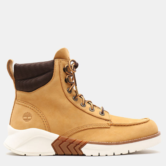 MTCR Mocassin Toe Boot for Men in Yellow Nubuck | Timberland