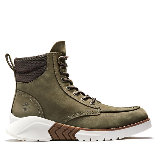 MTCR Mocassin Toe Boot for Men in Green Nubuck | Timberland
