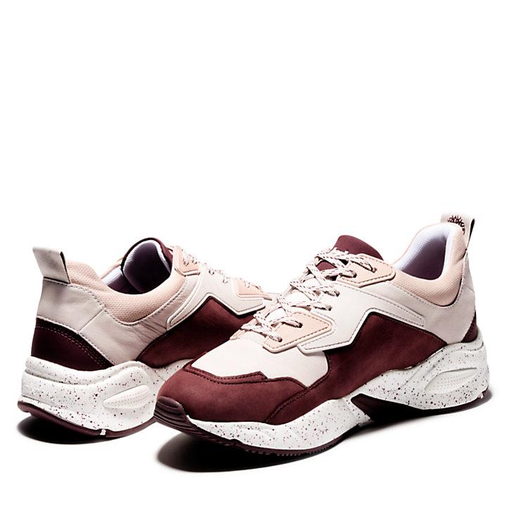 Delphiville Sneaker for Women in Brown or Burgundy-