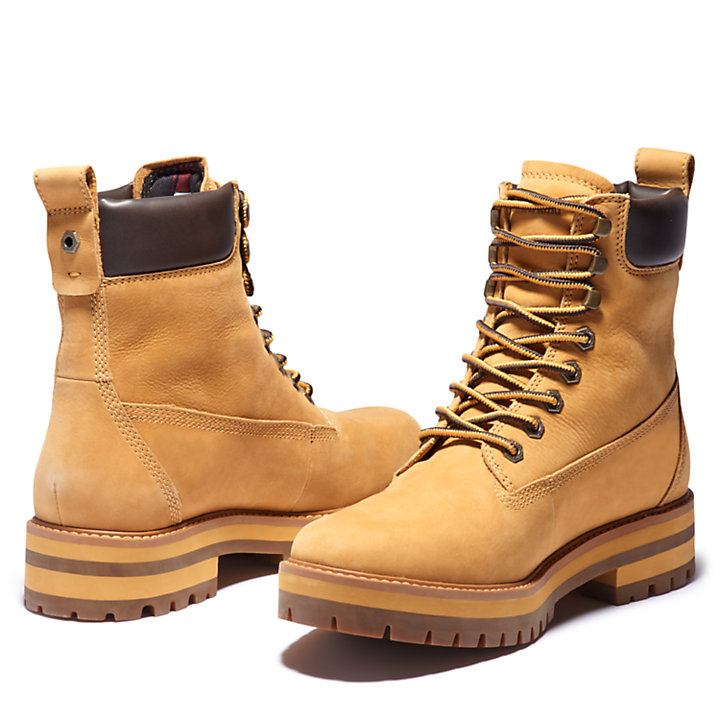 Courma Guy Winter Boot for Men in Yellow-