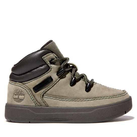 Davis Square Mid Hiker for Toddler in Green | Timberland