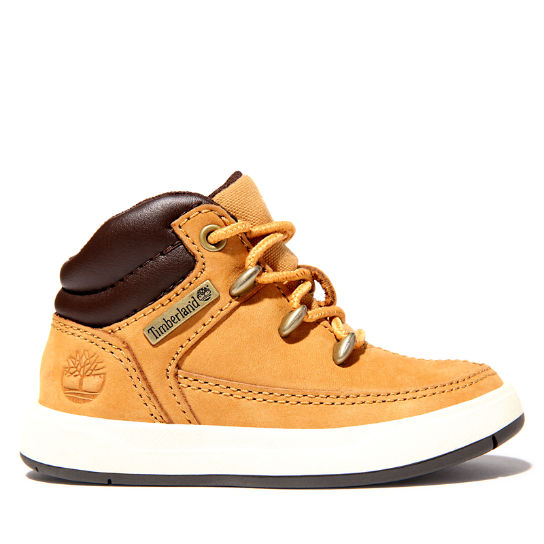 Davis Square Mid Hiker for Toddler in Yellow | Timberland