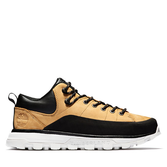Treeline Low Hiker for Men in Yellow/White | Timberland