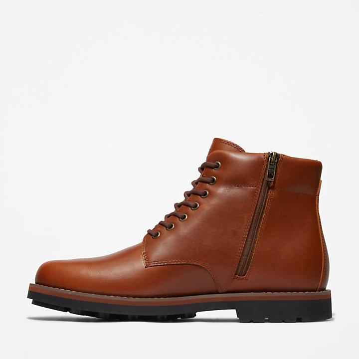 Alden Brook Side-Zip Boot for Men in Brown-