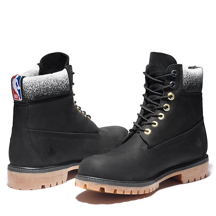 Premium 6 Inch Boot for Men in Black-