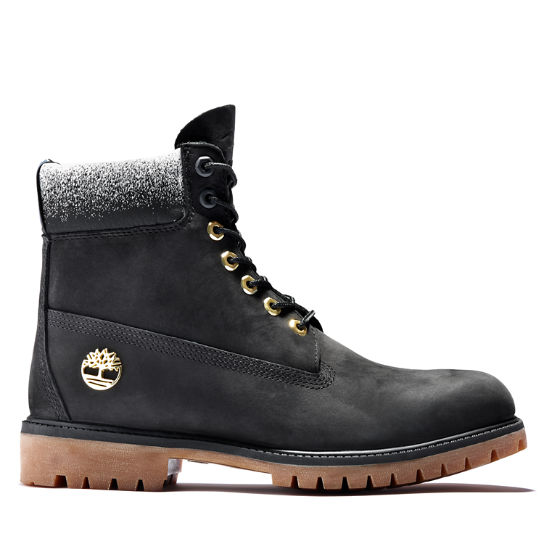 Premium 6 Inch Boot for Men in Black | Timberland
