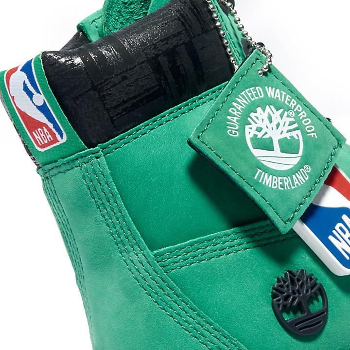 6 Inch Premium Boot for Junior in Green-