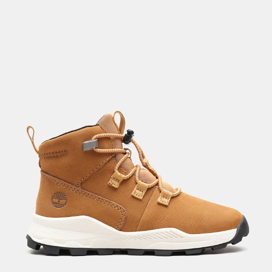 Brooklyn Alpine Chukka for Toddler in Yellow | Timberland