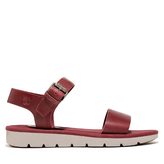 Lottie Lou Sandal for Women in Burgundy | Timberland