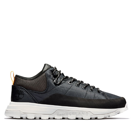 National Geographic x Timberland® Treeline Sneaker for Men in Black | Timberland