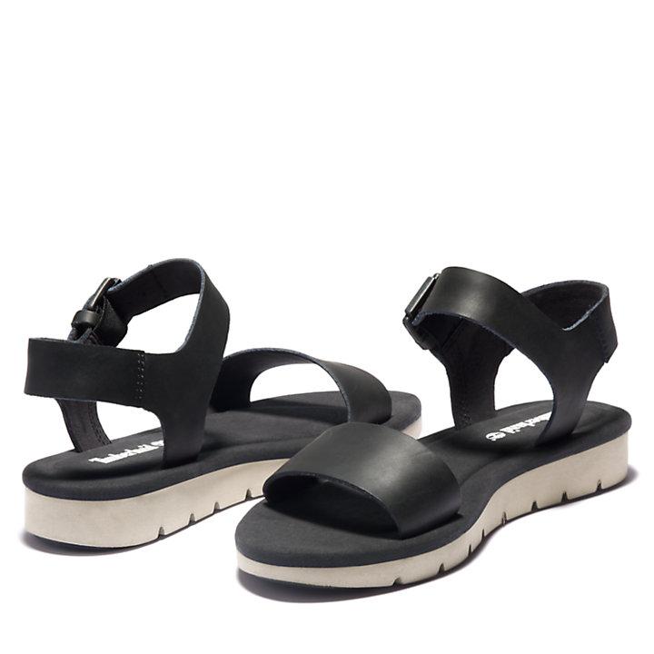 Sandale Lottie Lou pour femme en noir-