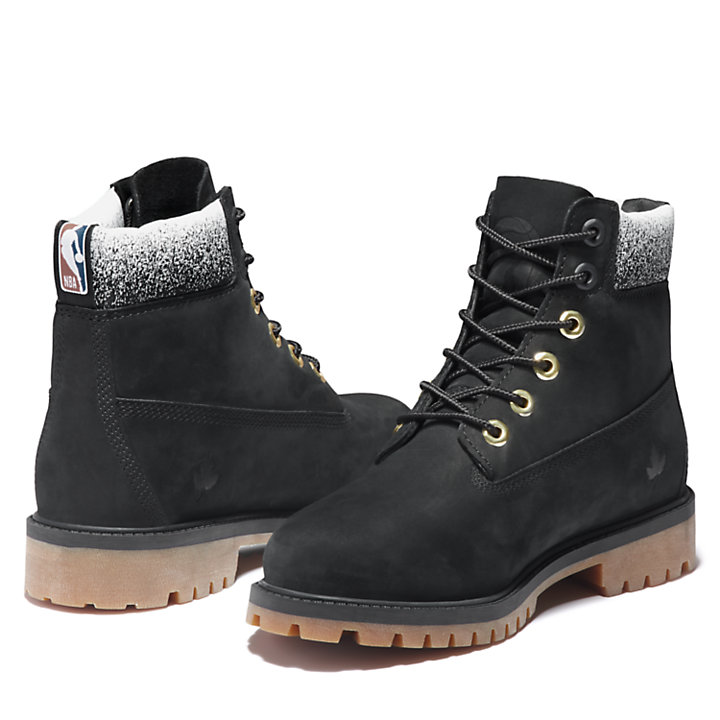 6 Inch Premium Boot voor juniors in zwart-