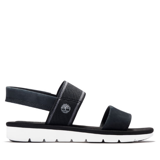 Lottie Lou Sandal for Women in Black | Timberland