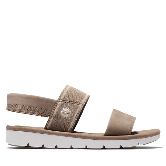 Lottie Lou Sandal for Women in Greige | Timberland