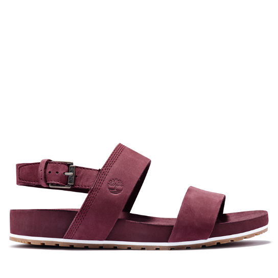 Malibu Waves Sandal for Women in Burgundy | Timberland
