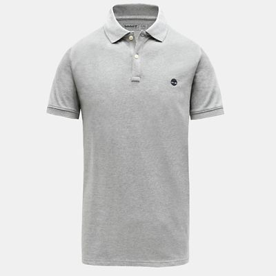 Millers+River+Slim+Polo+Shirt+for+Men+in+Grey