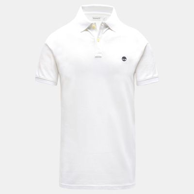 Millers+River+Slim+Polo+Shirt+for+Men+in+White