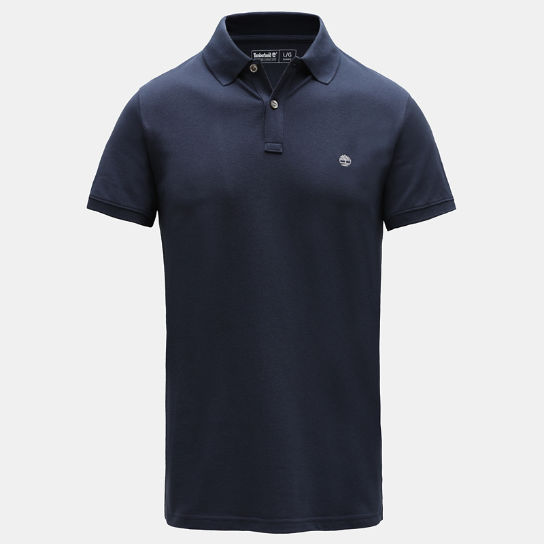 Millers River Slim Polo Shirt for Men in Navy | Timberland
