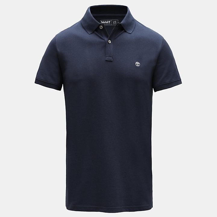 Millers Slim Poloshirt voor Heren in marineblauw-