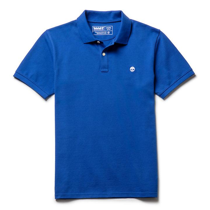 Polo Millers River pour homme en bleu-