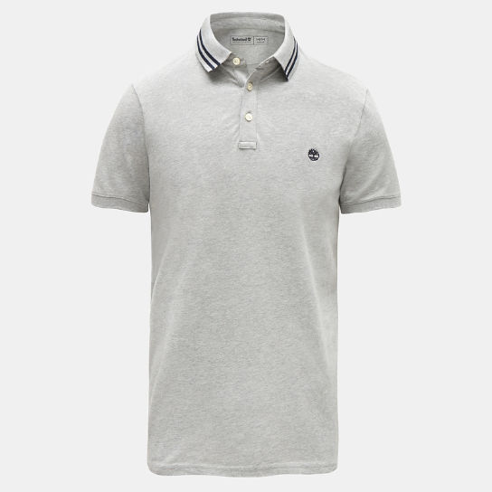 Millers River Polo Shirt for Men in Grey | Timberland