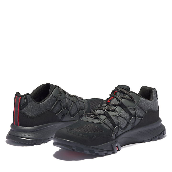 Garrison Hiking Sneaker for Men in Grey/Black-